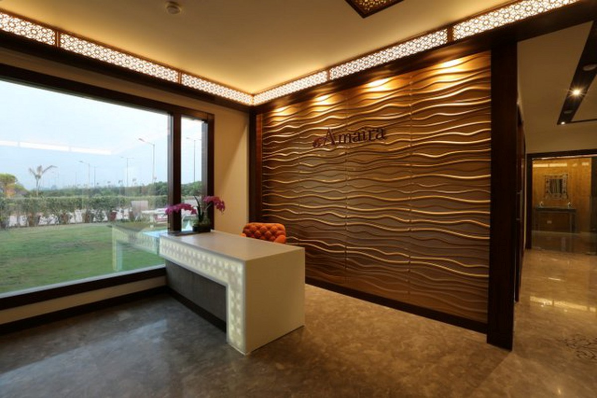 Personal office for a developer noida plumb design for Personal office design